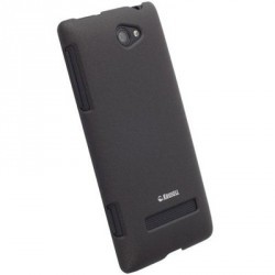 Coque noire Krusell luxe pour HTC Windows Phone 8S