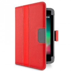 Etui support rouge folio Belkin rouge pour Google Nexus 7