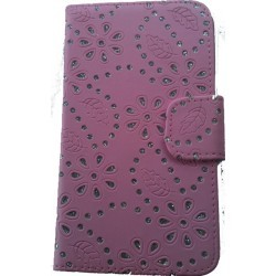 Etui strass rose diamant pour Samsung Galaxy Note 2