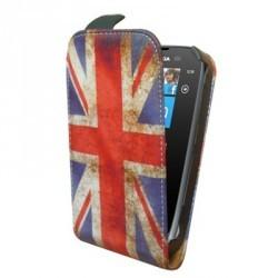 Housse drapeau Angleterre vintage pour le Nokia Lumia 610