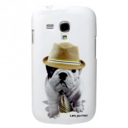 Coque Rigide Teo Jasmin pour Samsung S3 Mini Noire, rose ou blanche