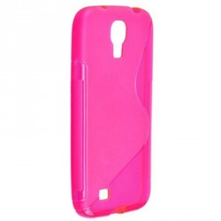 Coque silicone rose de protection Samsung Galaxy S4