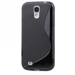 Coque de protection noire pour Samsung Galaxy S4