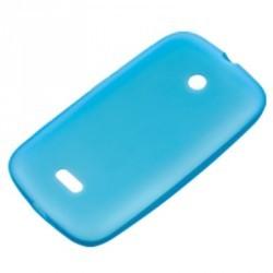 Coque silicone origine Nokia Lumia 510 couleur bleu