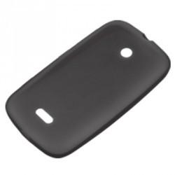 Coque housse noire origine pour Nokia Lumia 510 - semi-rigide