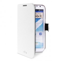 Etui blanc slim PURO luxe pour Samsung Galaxy Note 2