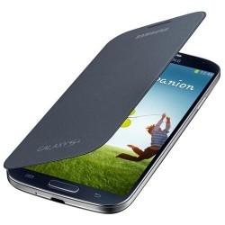 Etui gris noir origine latéral intégrable pour Samsung Galaxy S4