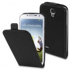 Housse à rabat Moxie Trendy Noire pour Samsung Galaxy S4