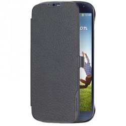 Etui portefeuille origine classique noir pour Samsung Galaxy S4