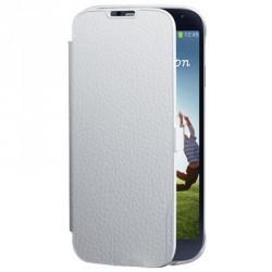 Etui latéral origine portefeuille blanc pour Samsung Galaxy S4