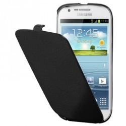 Etui origine à rabat noir pour le Samsung Galaxy Express