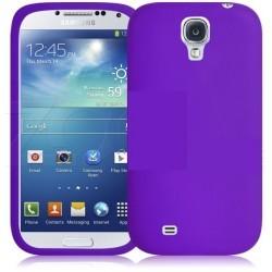 Coque couleur violet pour Samsung Galaxy S4
