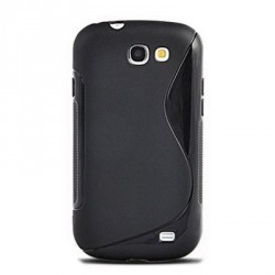 Coque en silicone noire pour le Samsung Galaxy Express