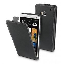 Etui luxe Moxie Trendy Noire pour HTC One