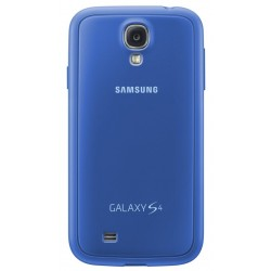Coque Cover+ Bleue d'origine Samsung Galaxy S4