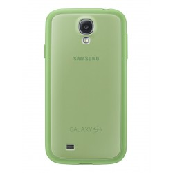 Coque Cover+ verte origine Samsung Galaxy S4