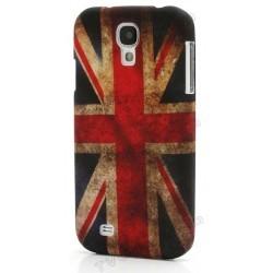 Coque silicone drapeau Angleterre UK pour Samsung Galaxy S4