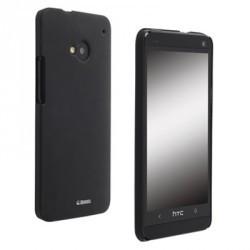 Coque arrière Colorcover Krusell noire HTC One