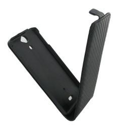 Coque carbone à rabat pour le Sony Xperia V