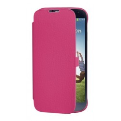Etui Folio rose origine pour Samsung Galaxy S4