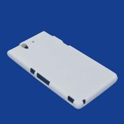 Coque blanche silicone pour Sony Xperia Z