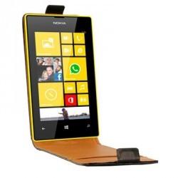 Etui à rabat en cuir pour le Nokia Lumia 720