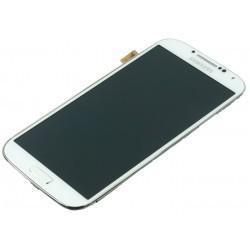 Façade complète bloc écran LCD et vitre tactile pour le Samsung Galaxy S4