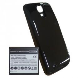 Cache + Batterie Haute Capacité 5600 mA/h noire pour Samsung Galaxy S4