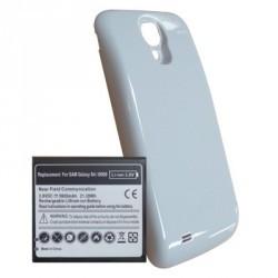 Cache + Batterie Haute Capacité 5600 mA/h blanc pour Samsung Galaxy S4