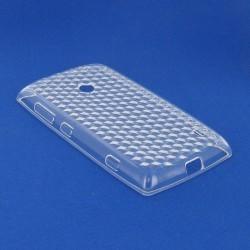 Coque blanche transparente pour Nokia Lumia 520