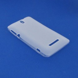 Coque blanche pour Sony Xperia E