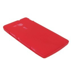 Coque silicone rouge pour le Sony Xperia SP