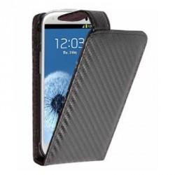 Housse carbone noire pour Samsung Galaxy Grand