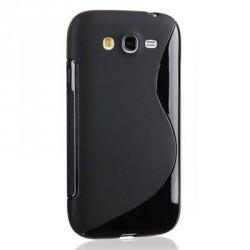 Coque silicone noire pour le Samsung Galaxy Grand