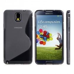Coque anti-chocs silicone noire pour le Galaxy Note 3