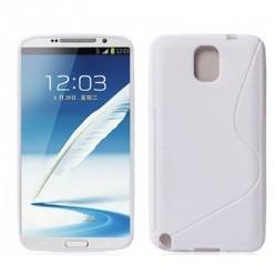 Coque souple blanche pour le Samsung Galaxy Note 3