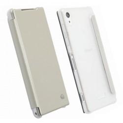 Etui folio blanc licence Krusell pour Sony Xperia Z2