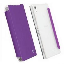 Etui folio violet licence Krusell pour Sony Xperia Z2