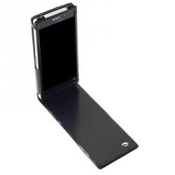 Etui Rabat Noir + Cartes Crédit Made For Xpéria pour Sony Xpéria Z2