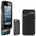 Protection Commuter Wallet Noire + Film Otterbox pour IPhone 5C