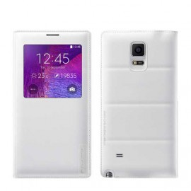 Folio Back Cover G-Case Blanc pour Galaxy Note 4