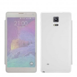 Folio Back Cover G-Case Ice Clear Blanc pour Galaxy Note 4