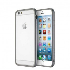 Bumper G-Case Invisible Gris pour iPhone 6