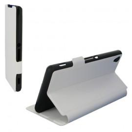 Etui folio pour Sony Xperia Z3 - Blanc