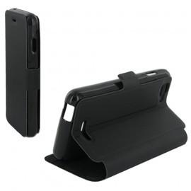 Etui Folio pour Wiko Kite 4G - Noir