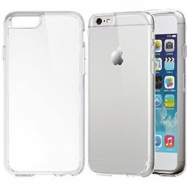 Bumper + Vitre Avant & Arrière Transparent pour IPhone 6