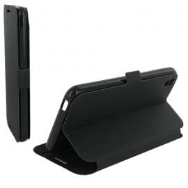 Folio Articulé Noir pour HTC Desire 816