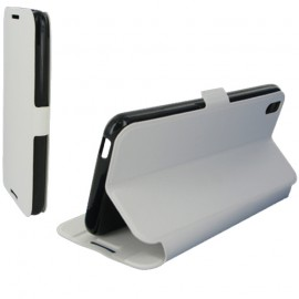 Folio Articulé Blanc pour HTC Desire 816