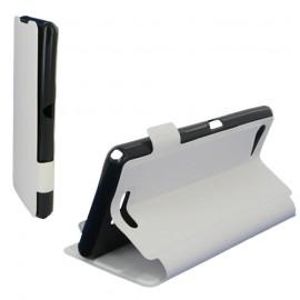 Folio Articulé blanc pour Sony Xperia E3