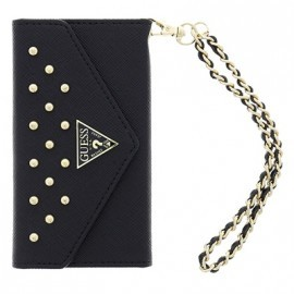 Pochette Noire GUESS Collection Studded pour iPhone 5/ 5S